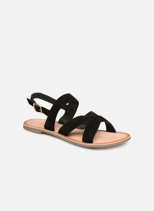 Sandales et nu-pieds Kickers DIBA Noir vue détail/paire