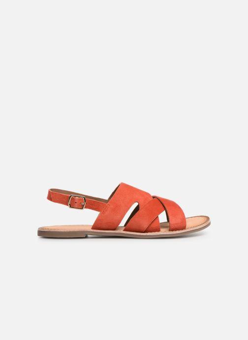 Sandales et nu-pieds Kickers DILANI Orange vue derrière