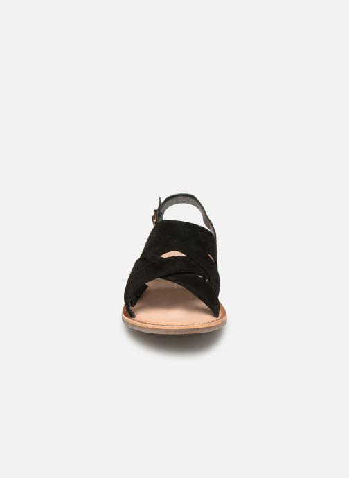 Sandales et nu-pieds Kickers DILANI Noir vue portées chaussures