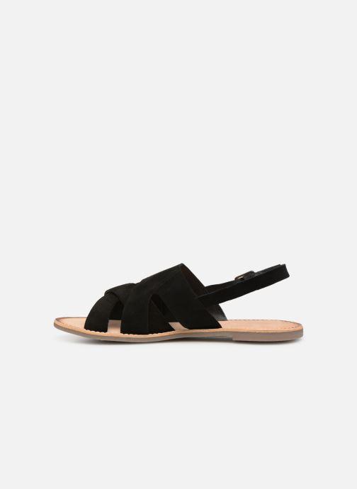 Sandales et nu-pieds Kickers DILANI Noir vue face