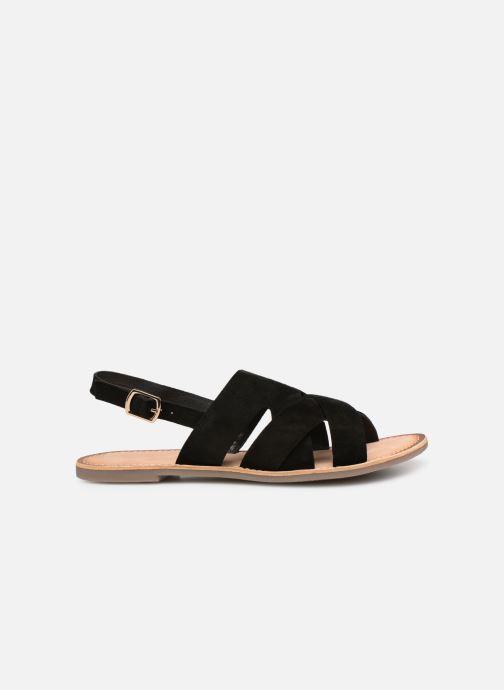 Sandales et nu-pieds Kickers DILANI Noir vue derrière