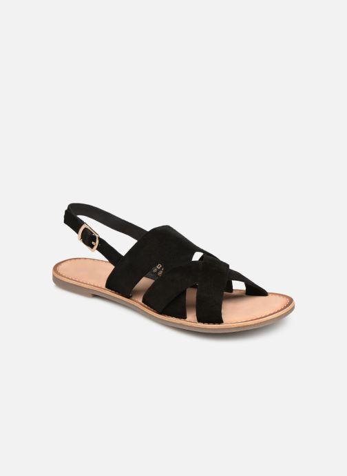 Sandales et nu-pieds Kickers DILANI Noir vue détail/paire