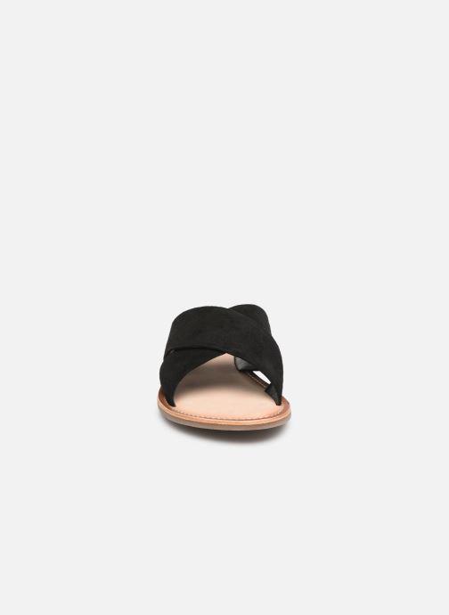 Mules et sabots Kickers DIAZ Noir vue portées chaussures