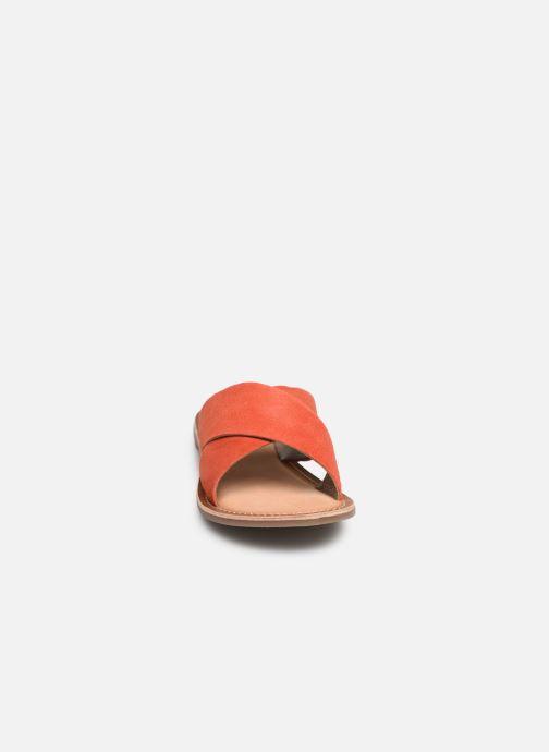 Zuecos Kickers DIAZ Naranja vista del modelo