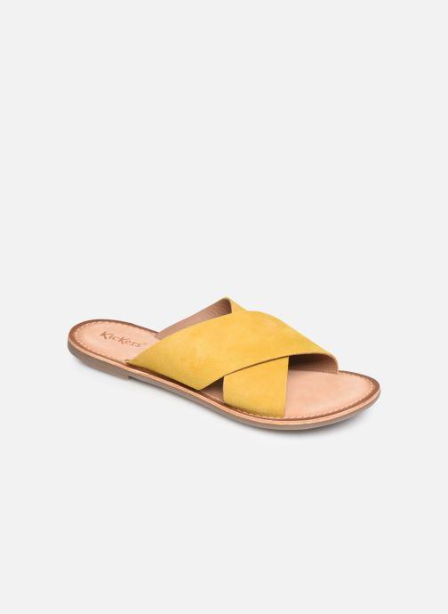 Clogs & Pantoletten Kickers DIAZ gelb detaillierte ansicht/modell