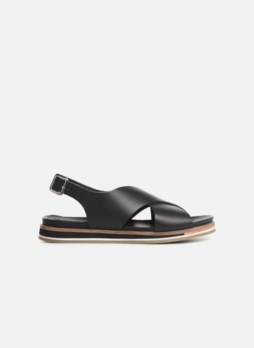 Sandalen Kickers OCEANIE schwarz ansicht von hinten