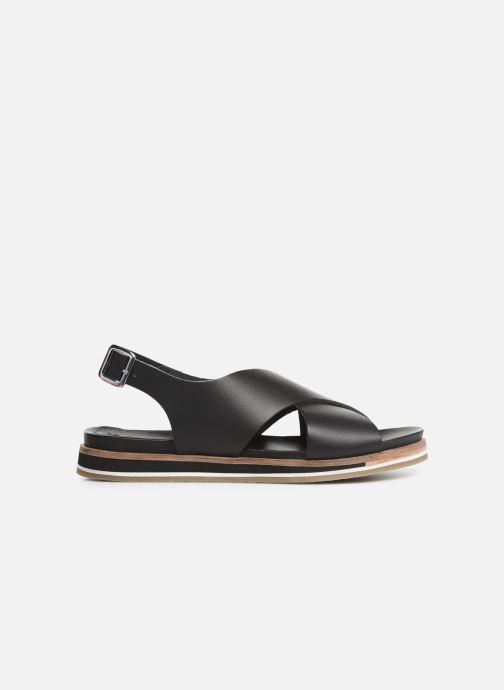 Sandales et nu-pieds Kickers OCEANIE Noir vue derrière
