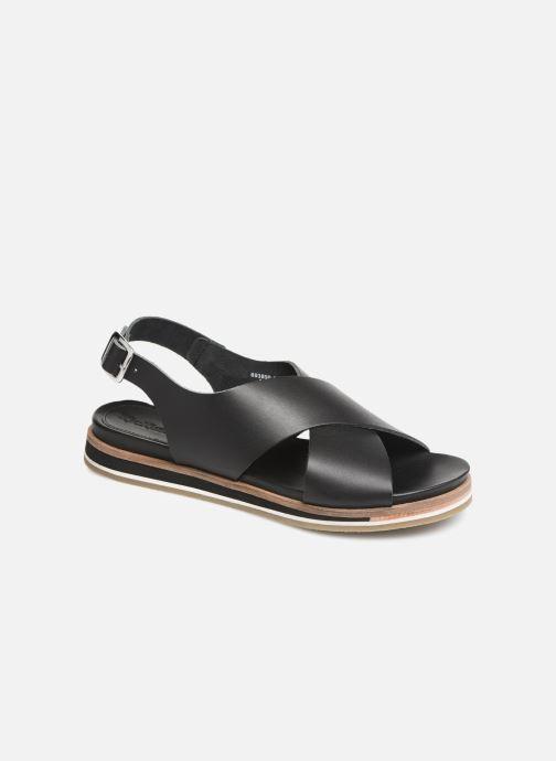 Sandales et nu-pieds Kickers OCEANIE Noir vue détail/paire