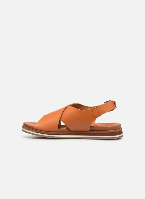 Sandales et nu-pieds Kickers OCEANIE Marron vue face