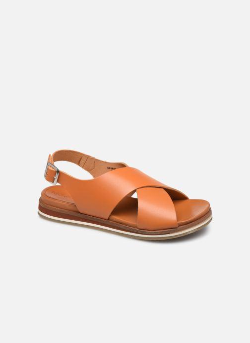 Sandales et nu-pieds Kickers OCEANIE Marron vue détail/paire