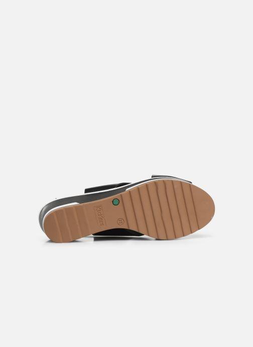 Sandaler Kickers WING Svart bild från ovan