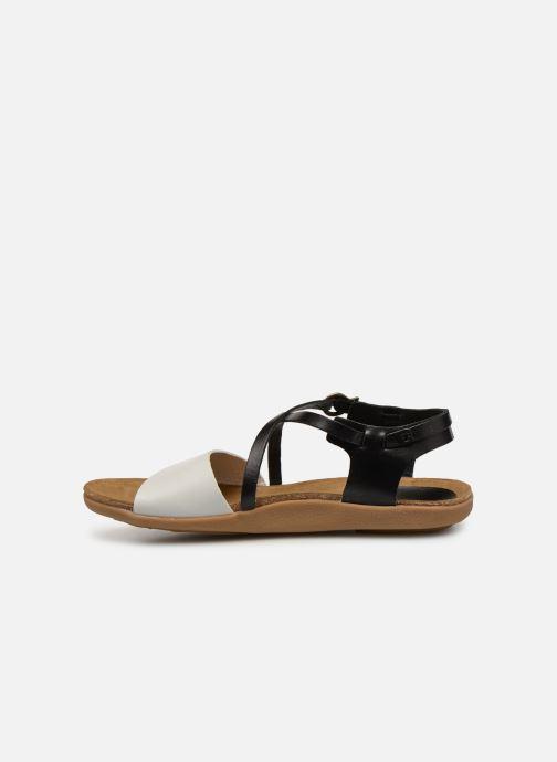 Sandales et nu-pieds Kickers ATOMICK Noir vue face