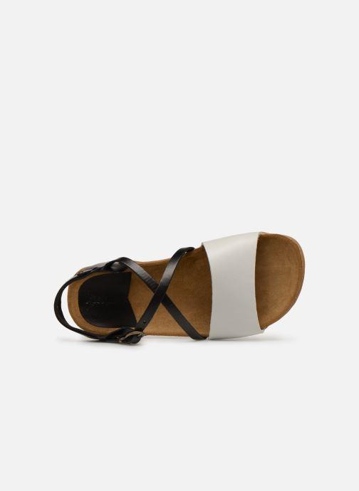Sandalen Kickers ATOMICK schwarz ansicht von links