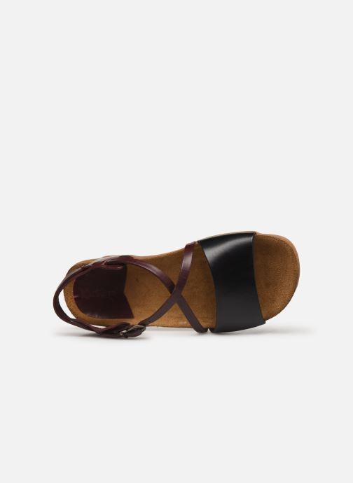 Sandaler Kickers ATOMICK Svart bild från vänster sidan