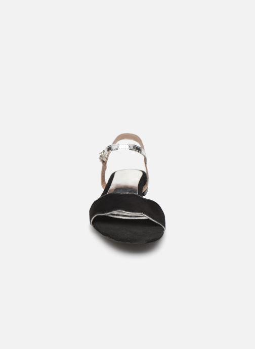 Sandali e scarpe aperte L'Atelier Tropézien SH668 Nero modello indossato