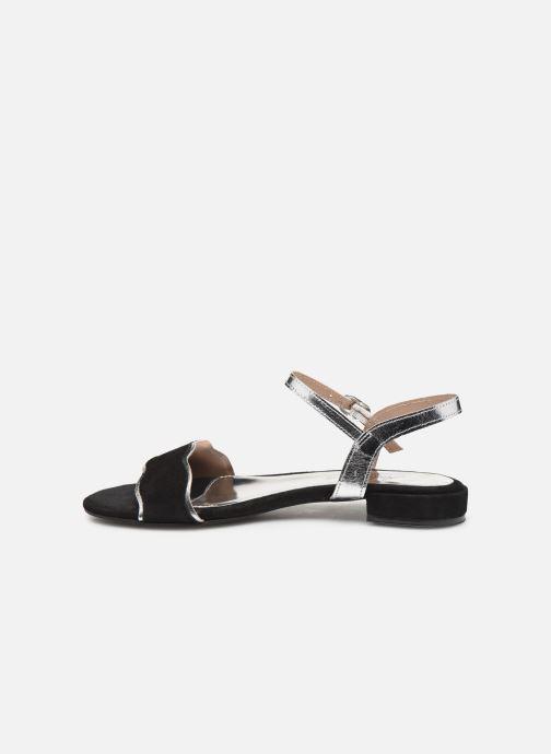 Sandalen L'Atelier Tropézien SH668 Zwart voorkant