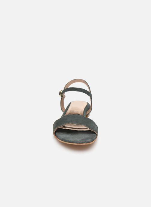 Sandales et nu-pieds L'Atelier Tropézien SH668 Bleu vue portées chaussures