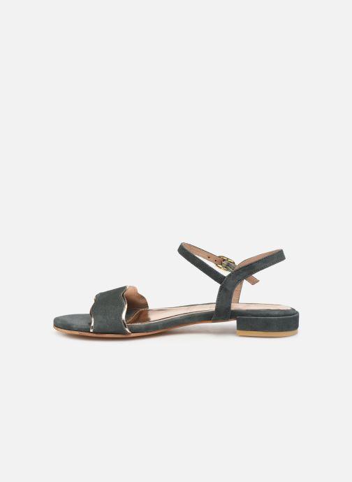 Sandales et nu-pieds L'Atelier Tropézien SH668 Bleu vue face