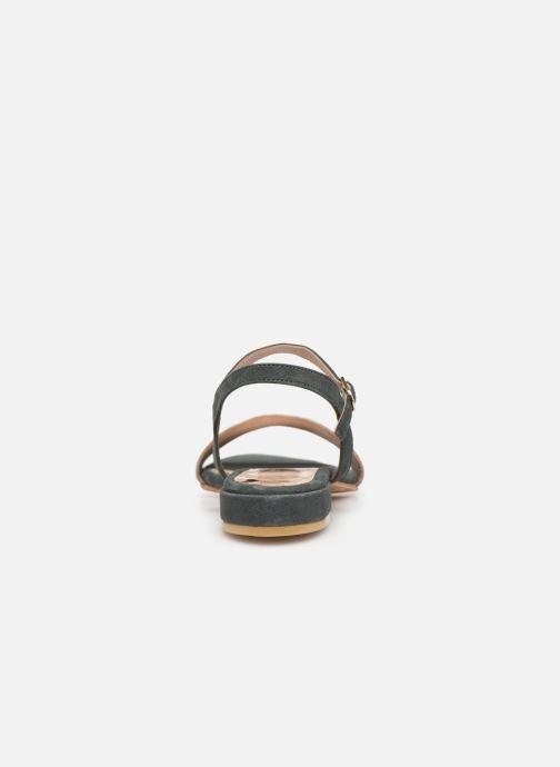 Sandales et nu-pieds L'Atelier Tropézien SH668 Bleu vue droite