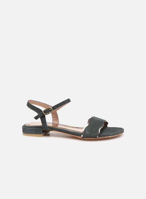 Sandales et nu-pieds L'Atelier Tropézien SH668 Bleu vue derrière