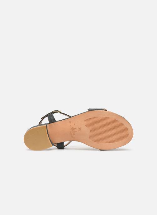 Sandales et nu-pieds L'Atelier Tropézien SH668 Bleu vue haut