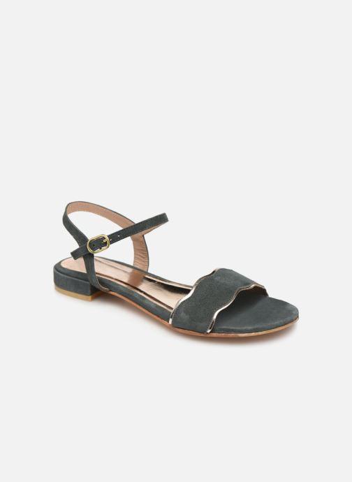 Sandales et nu-pieds L'Atelier Tropézien SH668 Bleu vue détail/paire