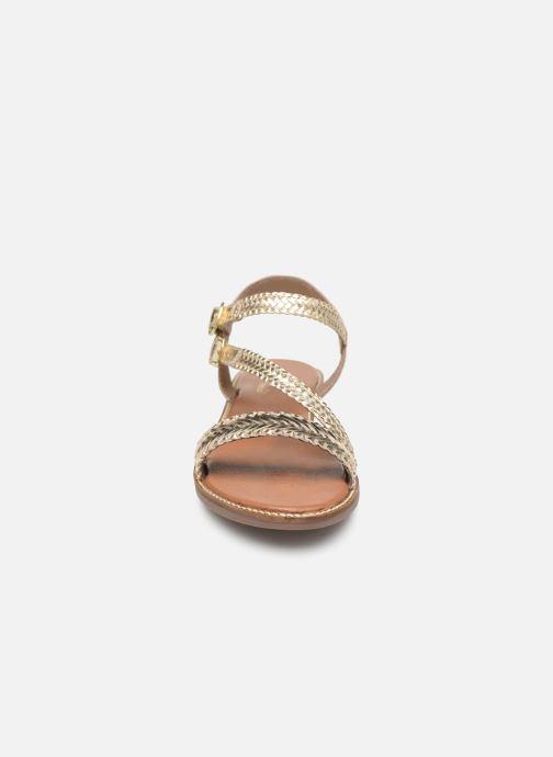Sandales et nu-pieds L'Atelier Tropézien SB902 Or et bronze vue portées chaussures