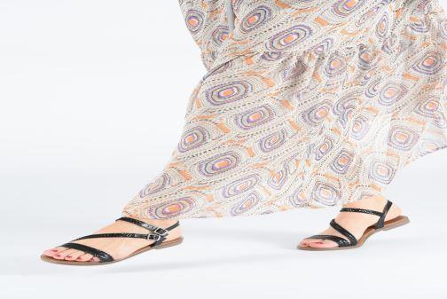Sandales et nu-pieds L'Atelier Tropézien SB902 Noir vue bas / vue portée sac