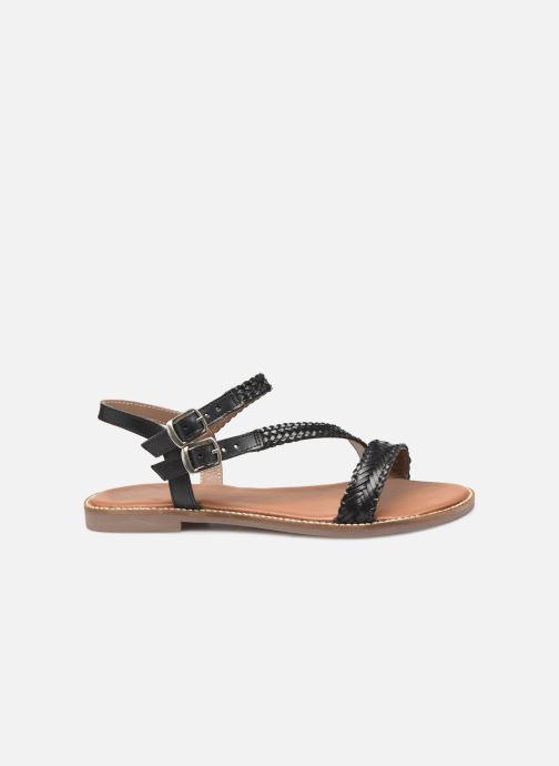 Sandales et nu-pieds L'Atelier Tropézien SB902 Noir vue derrière