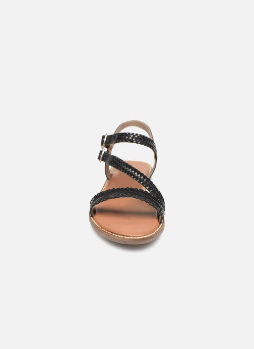 Sandales et nu-pieds L'Atelier Tropézien SB902 Noir vue portées chaussures