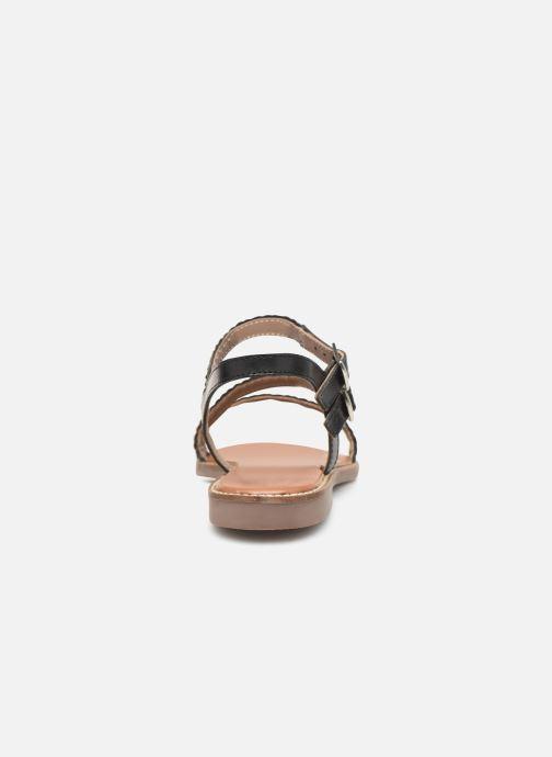Sandales et nu-pieds L'Atelier Tropézien SB902 Noir vue droite