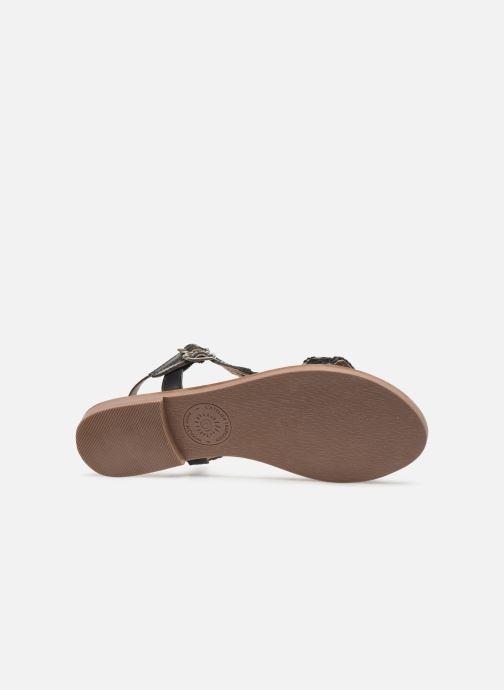 Sandales et nu-pieds L'Atelier Tropézien SB902 Noir vue haut