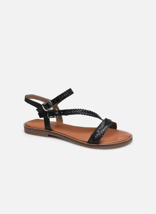 Sandales et nu-pieds L'Atelier Tropézien SB902 Noir vue détail/paire