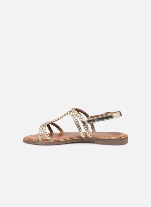 Sandali e scarpe aperte L'Atelier Tropézien SB907 Oro e bronzo immagine frontale