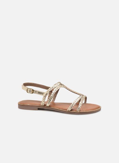 Sandales et nu-pieds L'Atelier Tropézien SB907 Or et bronze vue derrière
