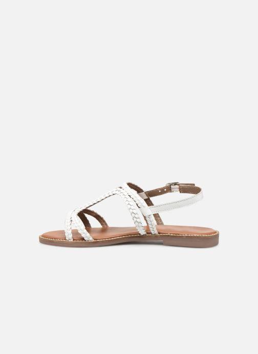 Sandales et nu-pieds L'Atelier Tropézien SB907 Blanc vue face