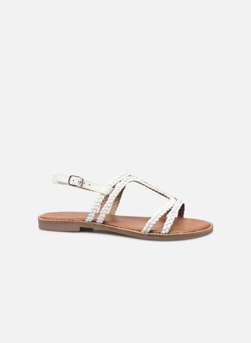 Sandales et nu-pieds L'Atelier Tropézien SB907 Blanc vue derrière