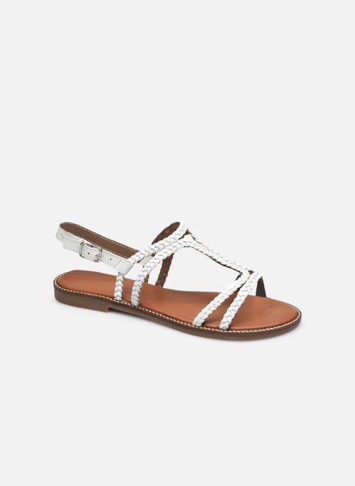 Sandales et nu-pieds L'Atelier Tropézien SB907 Blanc vue détail/paire