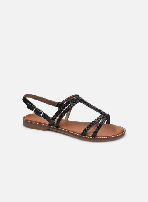 Sandales et nu-pieds L'Atelier Tropézien SB907 Noir vue détail/paire