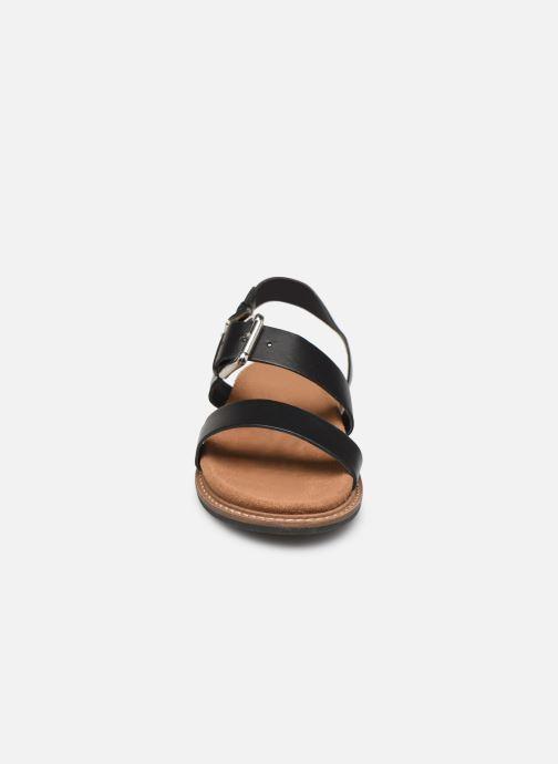 Sandali e scarpe aperte L'Atelier Tropézien MG5473 Nero modello indossato