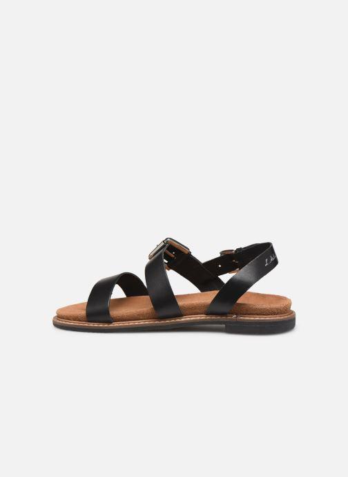 Sandali e scarpe aperte L'Atelier Tropézien MG5473 Nero immagine frontale