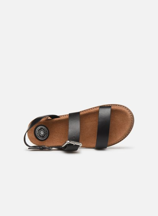 Sandali e scarpe aperte L'Atelier Tropézien MG5473 Nero immagine sinistra