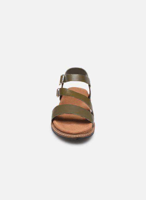 Sandales et nu-pieds L'Atelier Tropézien MG6011 Vert vue portées chaussures