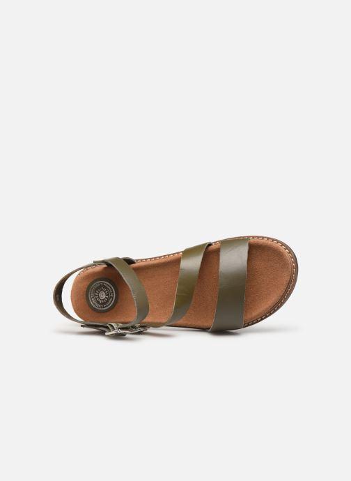 Sandales et nu-pieds L'Atelier Tropézien MG6011 Vert vue gauche