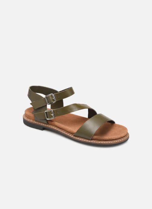 Sandales et nu-pieds L'Atelier Tropézien MG6011 Vert vue détail/paire