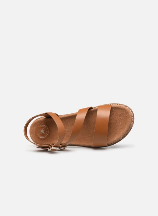 Sandali e scarpe aperte L'Atelier Tropézien MG6011 Marrone immagine sinistra
