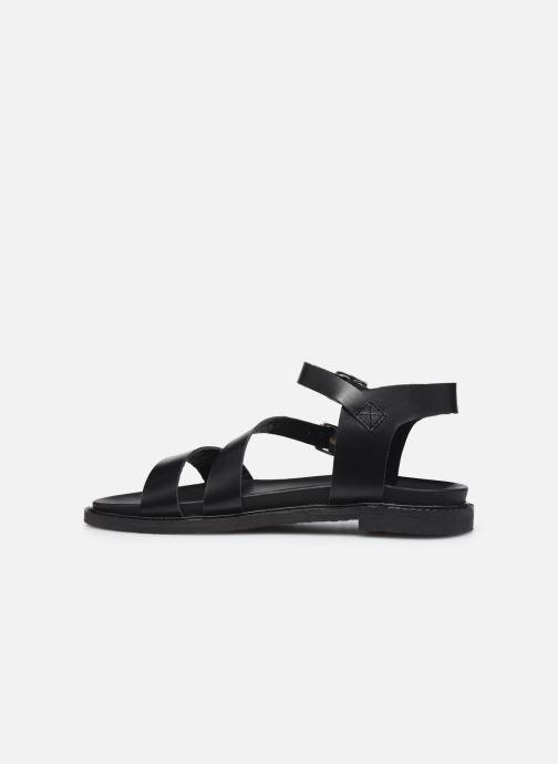 Sandali e scarpe aperte L'Atelier Tropézien MG6011 Nero immagine frontale