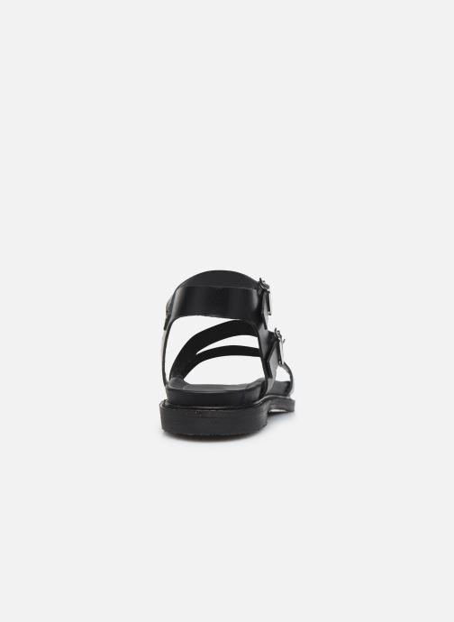 Sandali e scarpe aperte L'Atelier Tropézien MG6011 Nero immagine destra