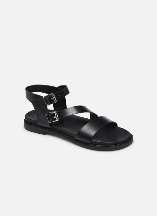 Sandales et nu-pieds L'Atelier Tropézien MG6011 Noir vue détail/paire