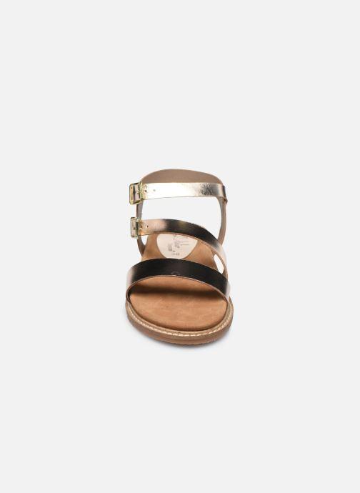 Sandali e scarpe aperte L'Atelier Tropézien MG6011 Oro e bronzo modello indossato
